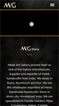 Mobile Preview of metalartgallery.in